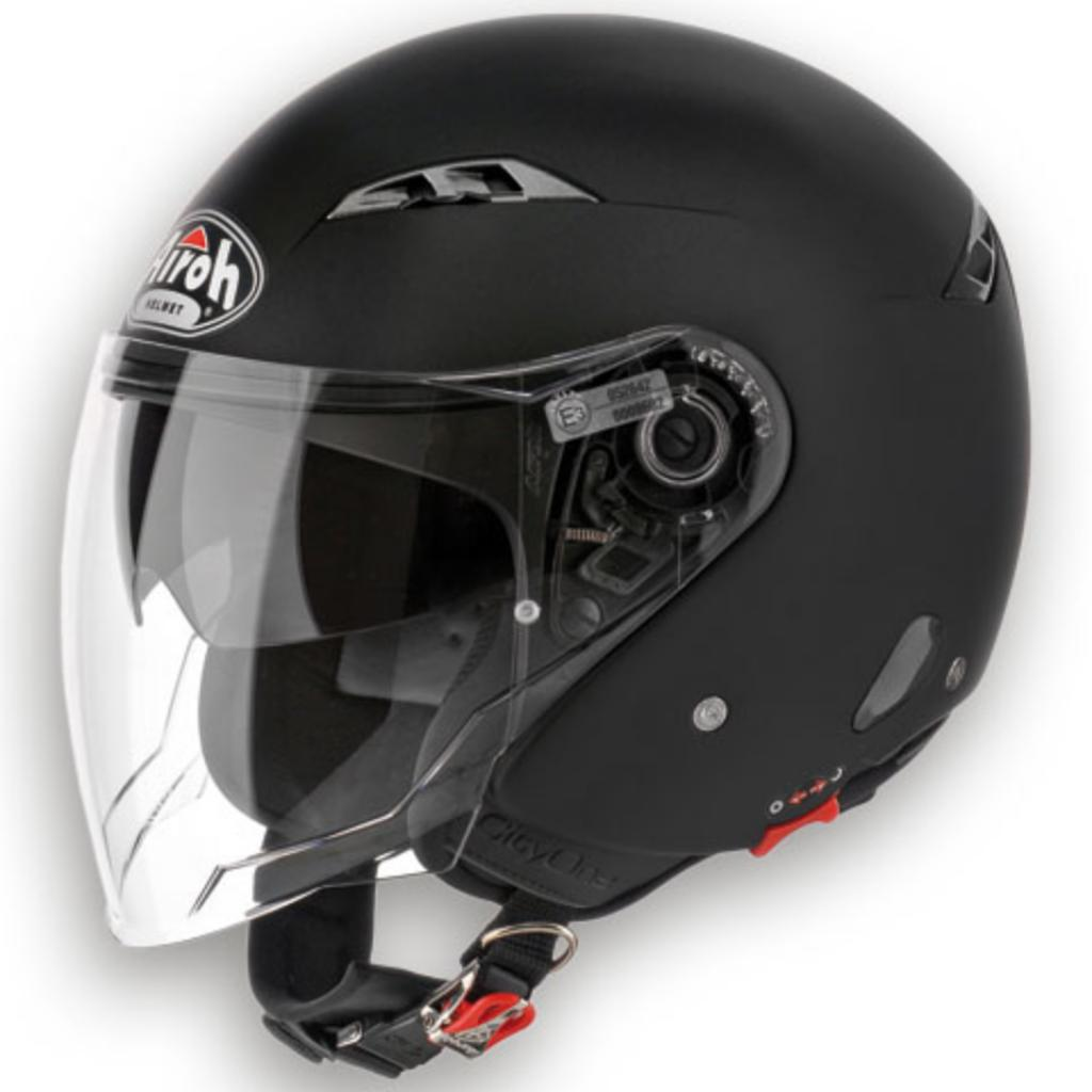 Casco jet Airoh City One nero